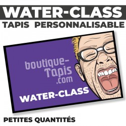 Tapis publicitaire WATER-CLASS